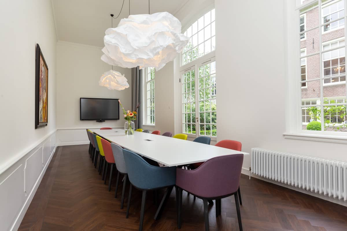 Office space Amsterdam City Center extra meeting rooms