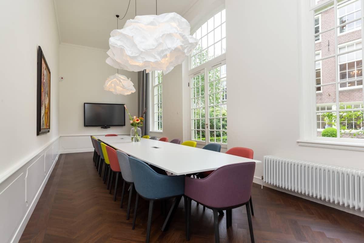 Virtual Office Amsterdam Tuinhuis Meeting Room EBC Amsterdan